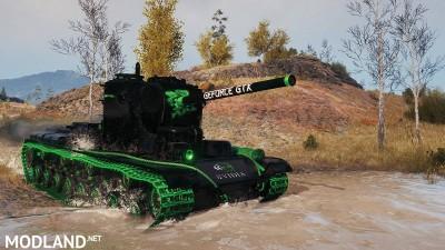 """KV-5 """"Nvidia-Style black"""" 1.1 [1.0.1.1], 2 photo"""